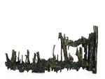 """Fragment"" // bronze // length=15,5 cm / height=8 cm"